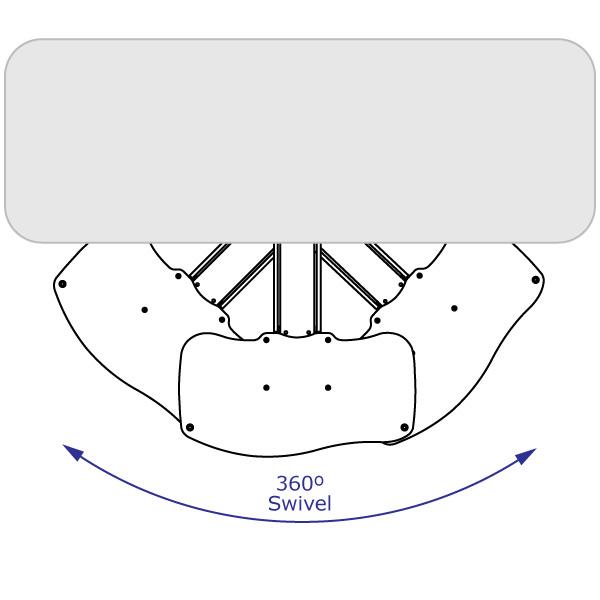 Tray rotation