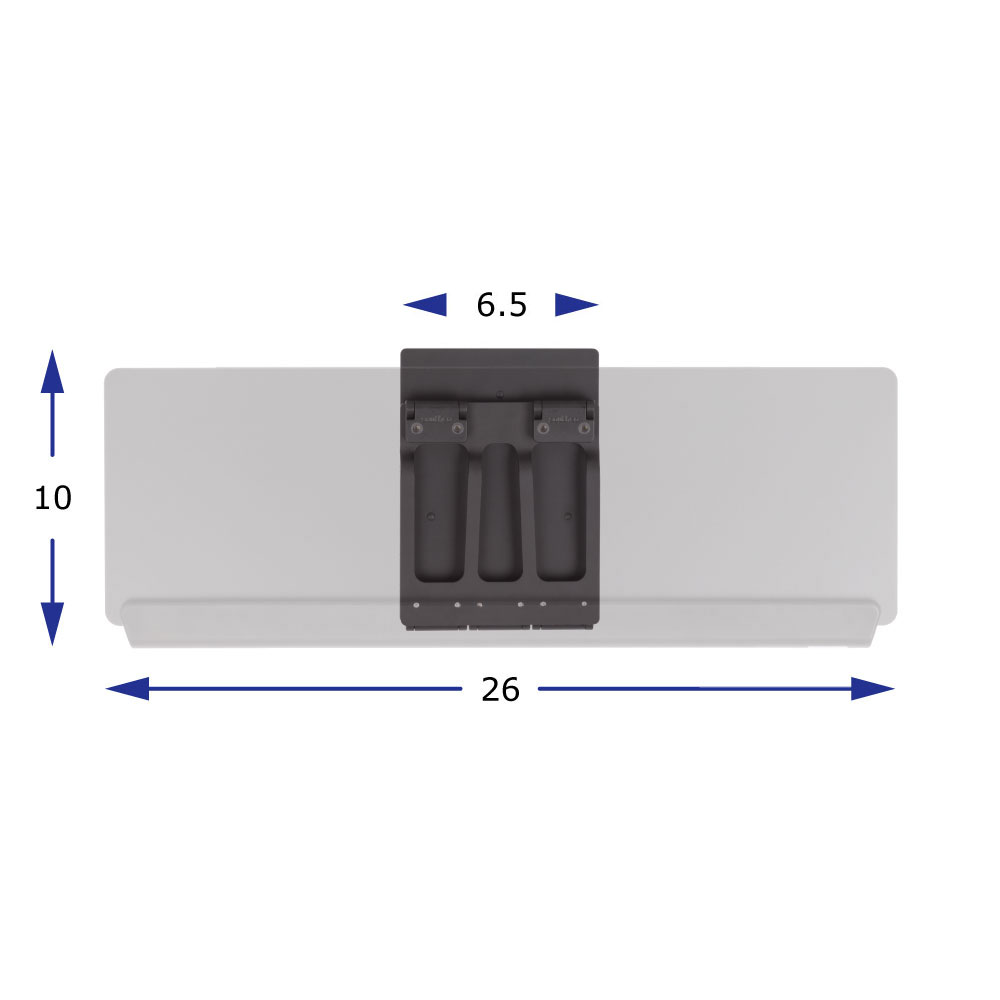 Functionality in a minimum of counter space